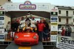 Pedana d'arrivo 1° classificato Cunico Gianfranco - Pirollo Luigi